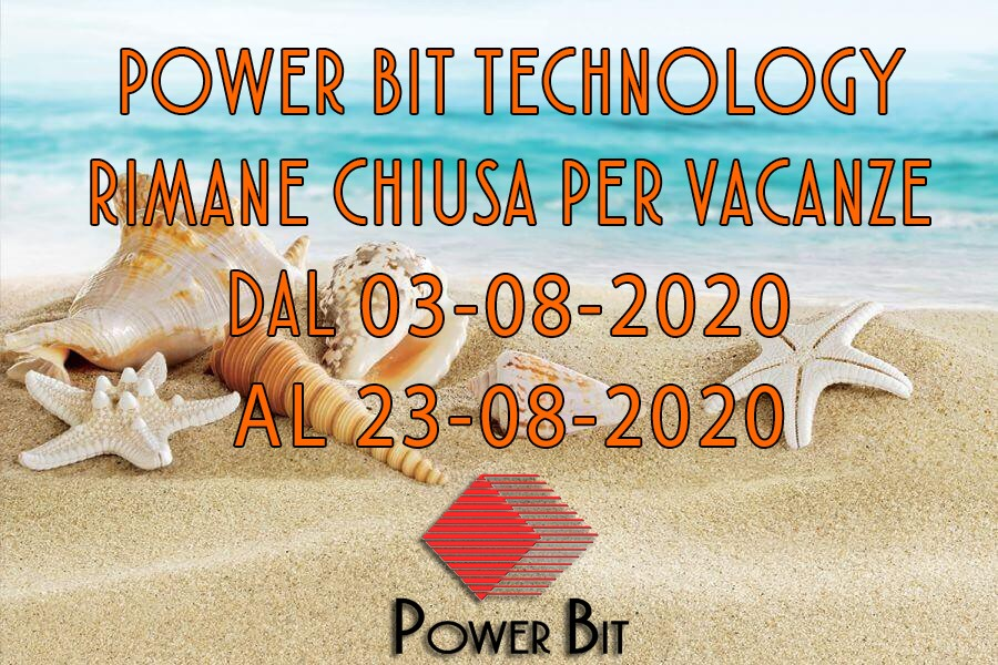 Chiusura Estiva Power Bit Technology